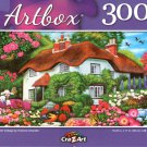 Flower Cottage by Vivienne Chanelle - 300 Piece Jigsaw Puzzle