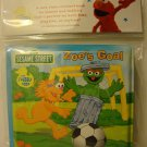 """ Sesame Street "" BathTime, ZOE'S GOAL, Bubble Book, Infant, Fun, NEW"