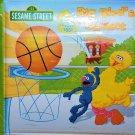 Sesame Street Bath Time Books, Ernie's Touchdown, Zoe's Goal, Big Bird's Basket ,Set of 3