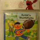 """ Sesame Street "" BathTime, ERNIE'S TOUCHDOWN Bubble Book, Infant, Fun, NEW"