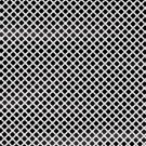 Magnetic Locker Wallpaper (Full Sheet Magnetic) - Black & White - Pack of 3 Sheets - v2b