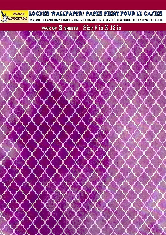 Magnetic Locker Wallpaper (Full Sheet Magnetic) - Pack of 3 Sheets - v24b