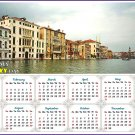 2020 Magnetic Calendar - Calendar Magnets - Today is my Lucky Day - Venice Grand Canal