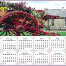 2020 Magnetic Calendar - Calendar Magnets - Today is my Lucky Day - Edition #12