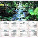 2020 Magnetic Calendar - Calendar Magnets - Today is my Lucky Day (Daintree National Park)