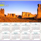 2020 Magnetic Calendar - Calendar Magnets - Today is my Lucky Day (Arches National Park)
