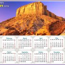 2020 Magnetic Calendar - Calendar Magnets - Today is my Lucky Day - Edition #28b