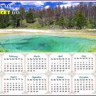 2020 Magnetic Calendar - Calendar Magnets - Today is my Lucky Day -  v11