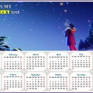 2020 Magnetic Calendar - Calendar Magnets - Today is my Lucky Day -  v8