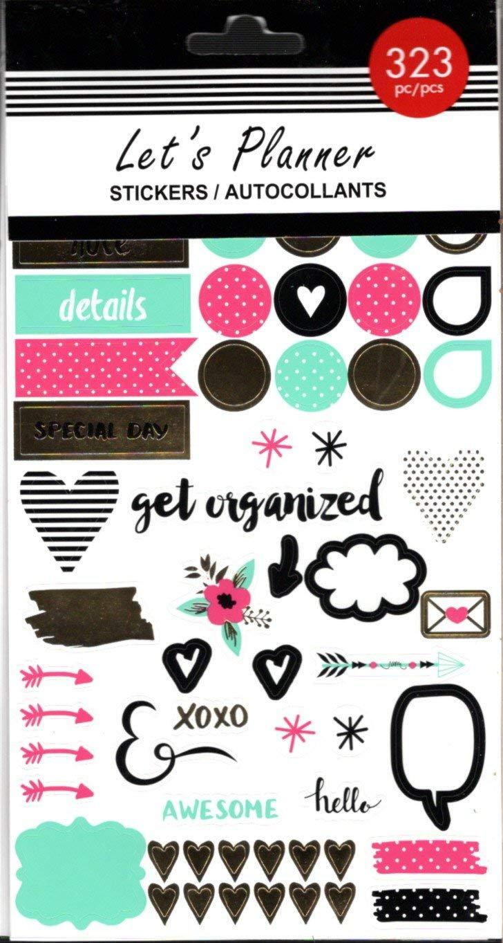 Greenbrier International Let's Planner Stickers - 323 Ps - v2
