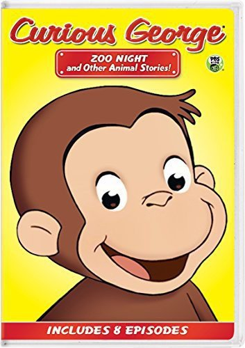Curious George: Zoo Night and Other Animal Stories!  DVD (dv001)