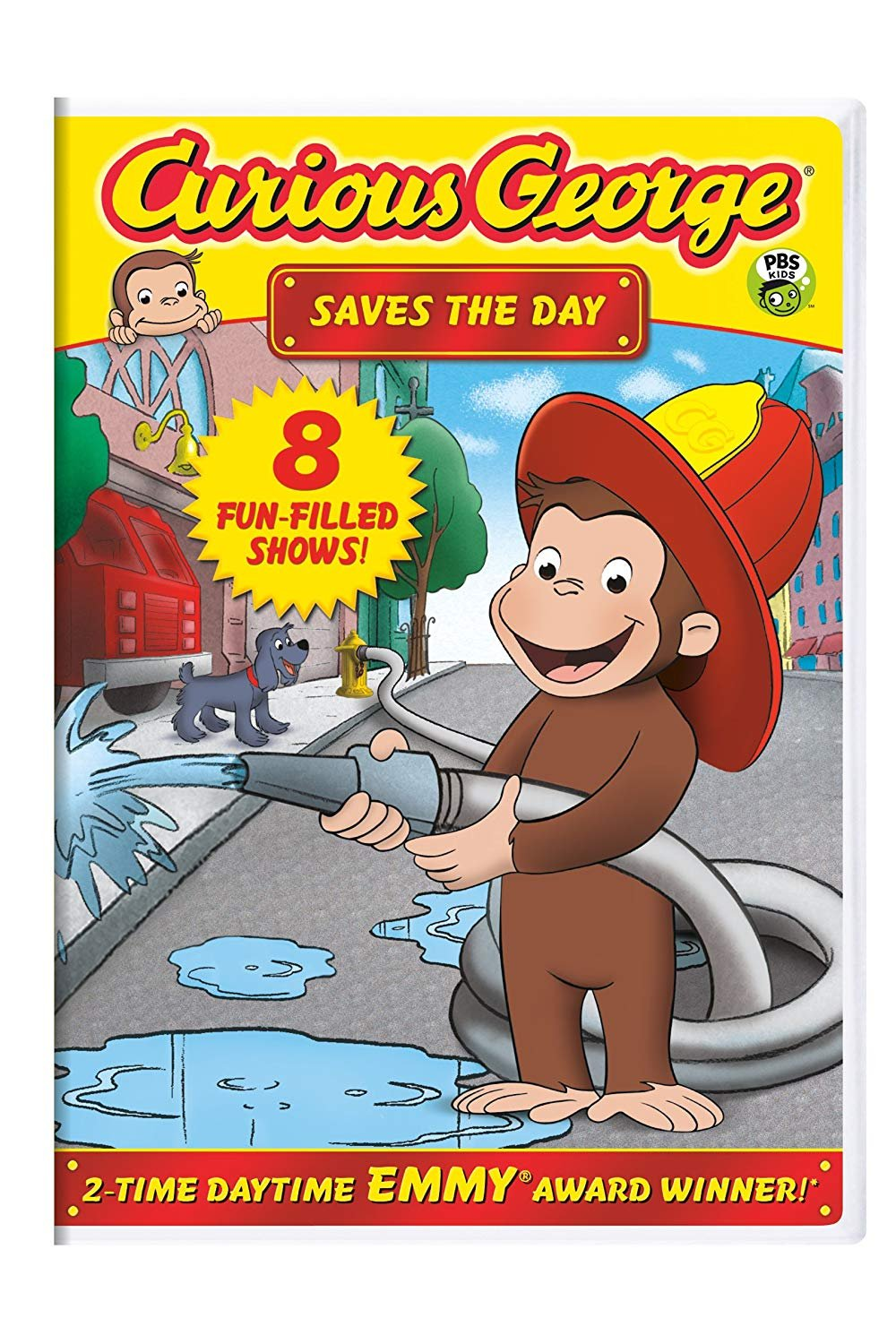 Curious George: Saves the Day  DVD (dv001)