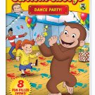 Curious George: Dance Party!  DVD (dv001)