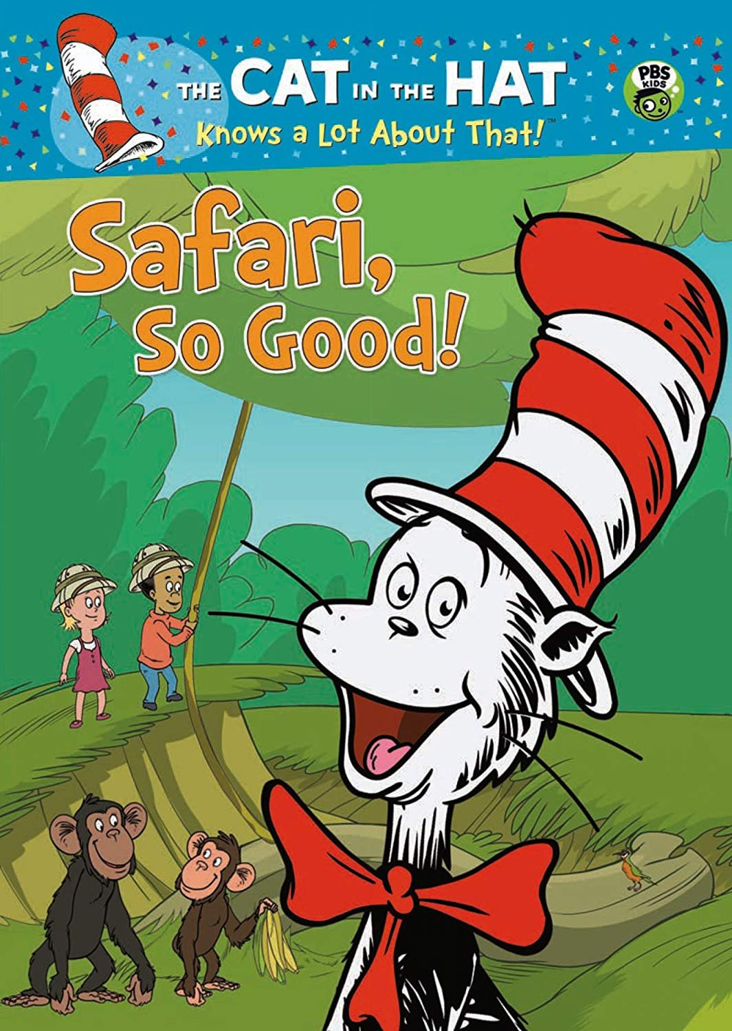 Cat in the Hat Knows a Lot About That!: Safari So Good DVD (dv 001)