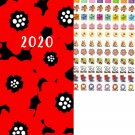 2020 Weekly Pocket Hardcover Appointment - with 120 Reminder Stickers -v2 (Edition #3)