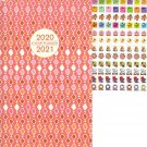 2020-2021 2 Year Monthly Appointment Planner/Calendar - with 120 Reminder Stickers - Edition #2