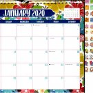 2020 Monthly Calendar - 12 Months Spiral Wall Calendar + Bonus 120 Reminder Stickers (Edition #15)