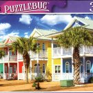 Colorful Houses in Panama City Beach Florida - 300 Pieces Jigsaw Puzzle (p 012)