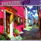 Bright Pink Building in Burano Island, Venice, Italy - 300 Pieces Jigsaw Puzzle (p 012)