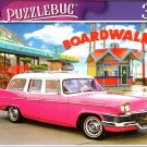 Pink 1958 Studebaker by The Boardwalk - 300 Pieces Jigsaw Puzzle (p 012)