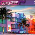 Art Deco Buildings on Ocean Drive, Miami, FL - 300 Pieces Jigsaw Puzzle (p 012)