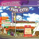 Motel and Restaurant Signs on Las Vegas Strip - 300 Pieces Jigsaw Puzzle (p 012)