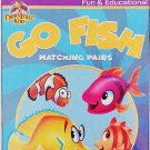Educational Flash Cards Go Fish Matching Pairs Learning Game