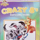 Educational Flash Cards Crazy 8's Matching Pairs Learning Game
