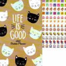 2019-2020 Student Monthly Planner Calendar (Life is Good)