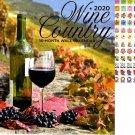 Wine Country - 16 Month 2020 Wall Calendar (September 2019 - December 2020)