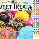 Sweet Treats - 16 Month 2020 Wall Calendar (September 2019 - December 2020)