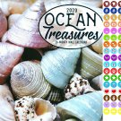 Ocean Treasures - 16 Month 2020 Wall Calendar (September 2019 - December 2020)