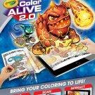 Crayola Color Alive 2.0 - Coloring Book, Crayons and Mobile App Set - Skylanders