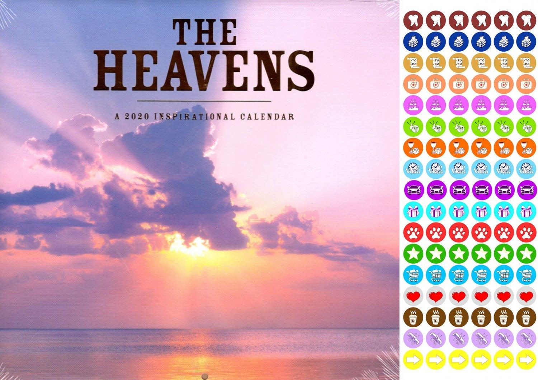The Heavens - 16 Month 2020 Inspirational Wall Calendar (September 2019 - December 2020)