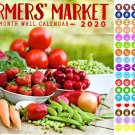 Farmers Market- 16 Month 2020 Wall Calendar (September 2019 - December 2020)