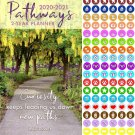 Pathways - 2020-2021 2 Year Pocket Planner/Calendar/Organizer