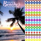Beaches 2020-2021 2 Year Pocket Planner/Calendar/Organizer