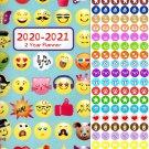 Emoji 2020-2021 2 Year Pocket Planner/Calendar/Organizer