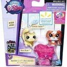 Littlest Pet Shop Adorable Duos Conchita Chipley #335 & Shura Styles #336