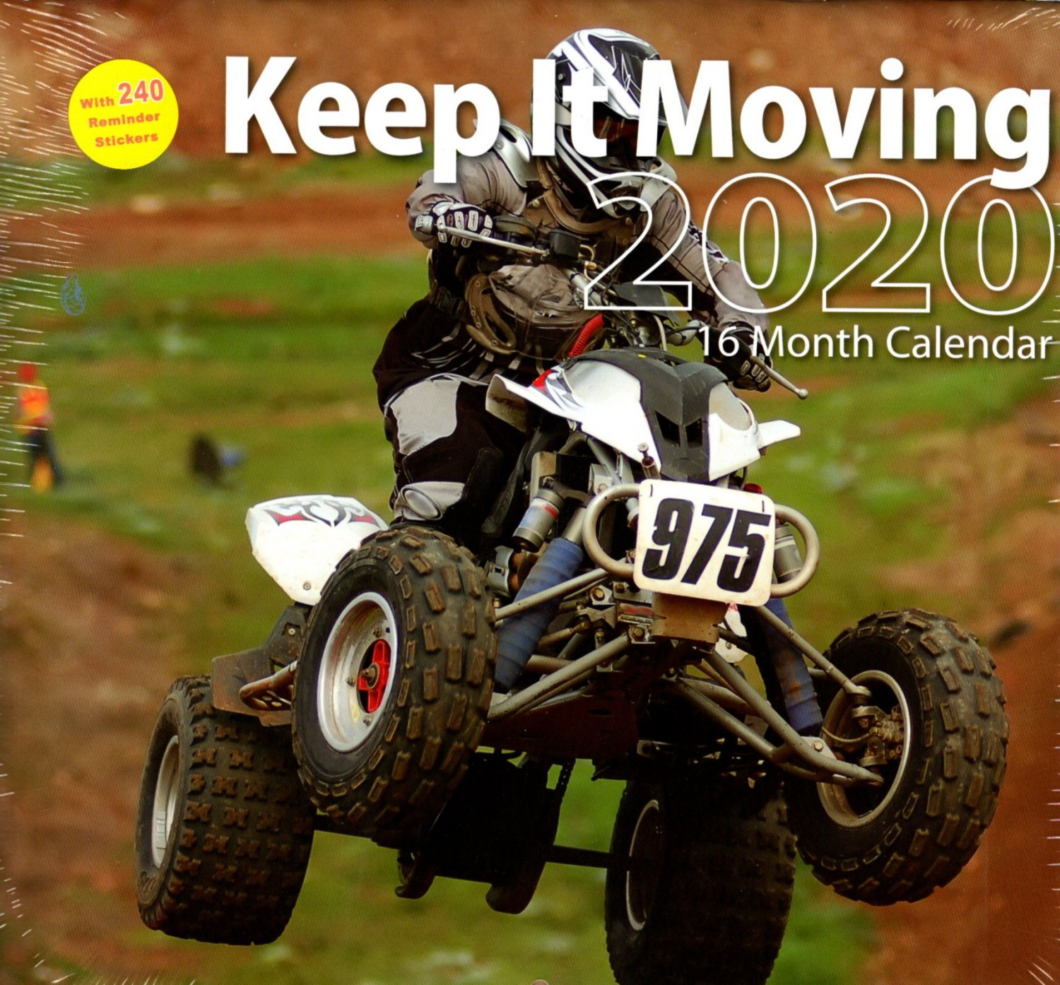 2020 Keep It Moving Full Size 16 Month Wall Calendar