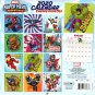 Marvel Super Hero  - 12 Month 2020 - with 100 Wall Calendar Reminder Stickers