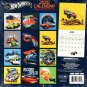 Hot Wheels - 12 Month 2020 Wall Calendar - with 100 Reminder Stickers