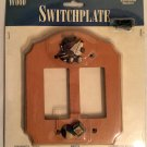 Figi Wood Wallplate(Light Switch Cover): Teddy and Toys SPRD-105