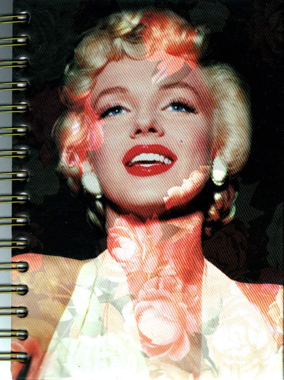 Marilyn Monroe Hardcover 240 Pages Journal/Notebook - v6