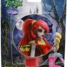 Once Upon a Zombie Belle Red Colored Base Night Light