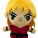 Street Fighter Little Buddy Ken 6 Inch Plush Dangler