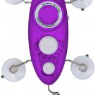 Zadro Bug 2.0 AM/FM Shower Radio Purple