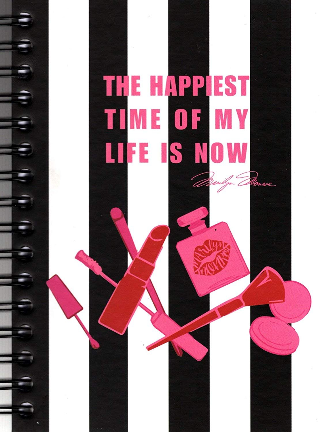 The Happiest Time of My Life is Now - Hardcover 240 Pages Journal/Notebook - v7