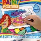See Live - Magic Paint Posters - 8 Paint Sheets + 1 Paintbrush + Stickers