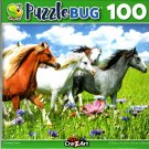 Running Ponies - 100 Pieces Jigsaw Puzzle